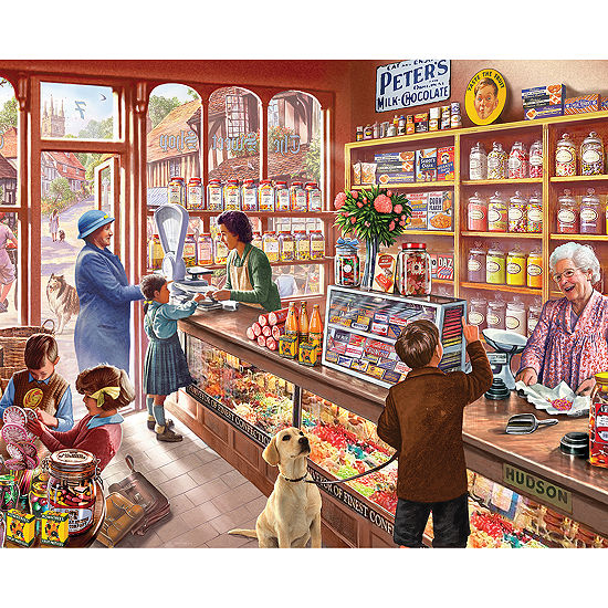 Old Candy Shop - 1000 Piecejigsaw Puzzle