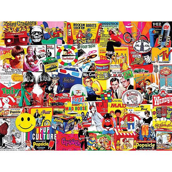 Pop Culture - 1000 Piece Jigsaw Puzzle