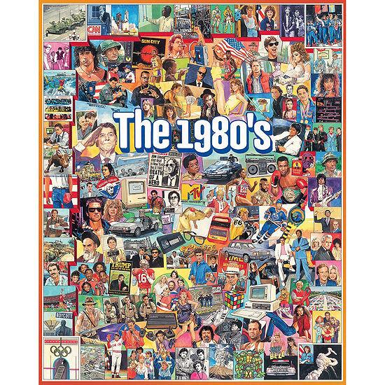 The Eighties - 1000 Piece Jigsaw Puzzle