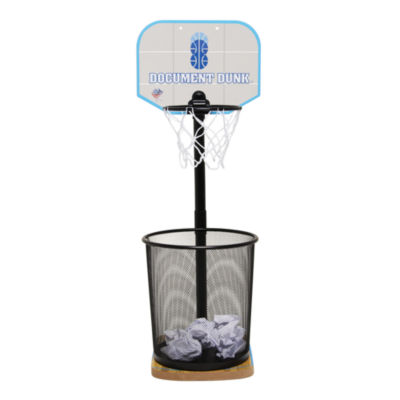 Document Dunk - The Trashcan Basketball Hoop For Office All-Stars