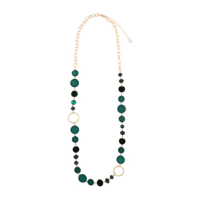 Mixit Womens Beaded Necklace