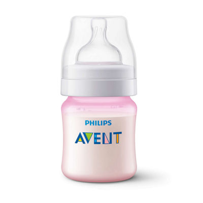 Philips Avent Anti-Colic Baby Bottles 3-Pack Pink