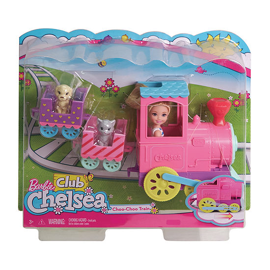 Barbie Club Chelsea Choo-Choo Puppy Train Barbie Toy Playset - Girls -  JCPenney a00e0baded66