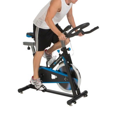 Exerpeutic LX7 Indoor Cycling Exercise Bike with Computer and Heart Pulse Sensors