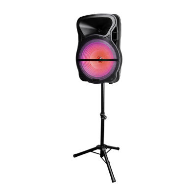 Trexonic Combination 15 Inch Bluetooth Portable Speaker and Tripod Stand