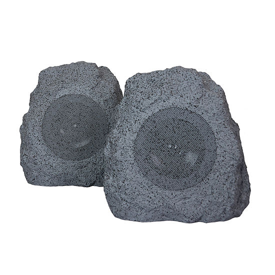 BeFree Sound Bluetooth Portable Outdoor Weather Resistant Rock Speakers