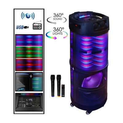 BeFree Sound Rechargeable Bluetooth Portable Party SpeakerPortable Speaker