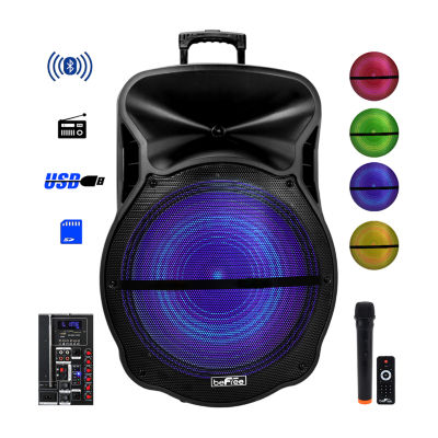 BeFree Sound 18 Inch Blutooth Portable Rechargeable Party Speaker