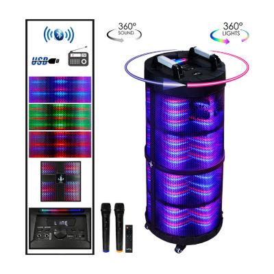 BeFree Sound Rechargeable  Bluetooth Portable Party Speaker