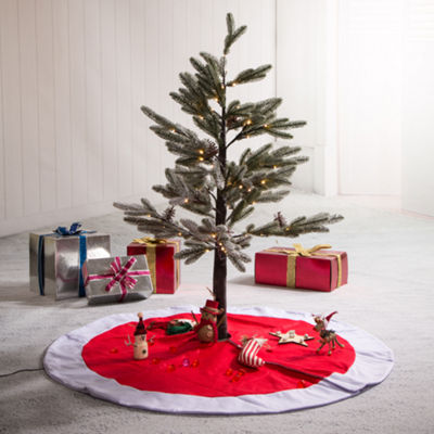 Woven Indoor Tree Skirt