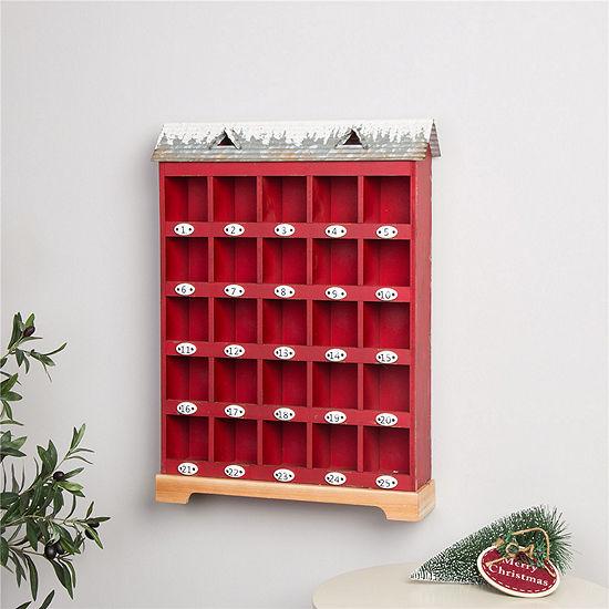 Wood & Metal Advent Calendar