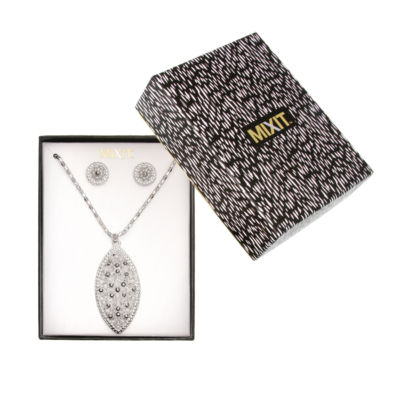Mixit Silver Tone 2-pc. Jewelry Set