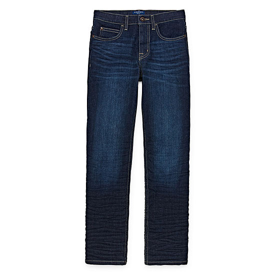 Arizona Boys Ripped Stretch Slim Fit Jean