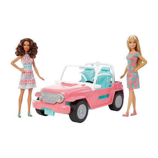 Barbie Cruiser With 2 Dolls