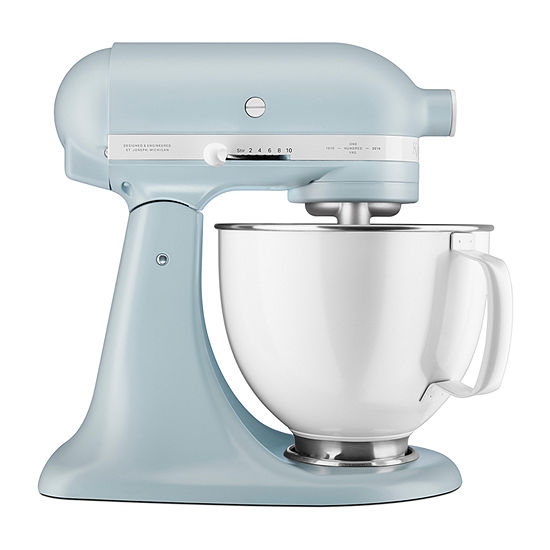 Peachy Kitchenaid Limited Edition Heritage Artisan Series Model K 5 Quart Tilt Head Stand Mixer Ksm180Rpmb Home Remodeling Inspirations Propsscottssportslandcom