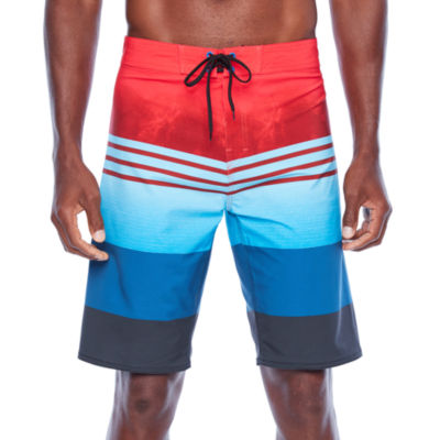 Burnside Bolt Stripe Board Shorts