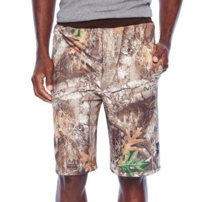 Realtree Mens Drawstring Waist Pull-On Shorts