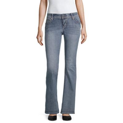 a.n.a Ana Swirl Flap Bootcut Modern Fit Bootcut Jeans
