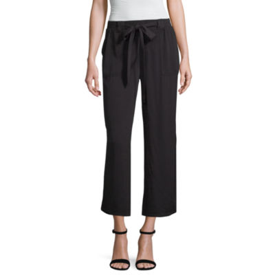 a.n.a Womens High Waisted Wide Leg Pull-On Pants