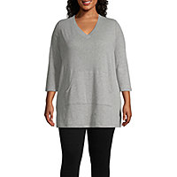 93ae66649ab Plus Size Shirts - Shop JCPenney