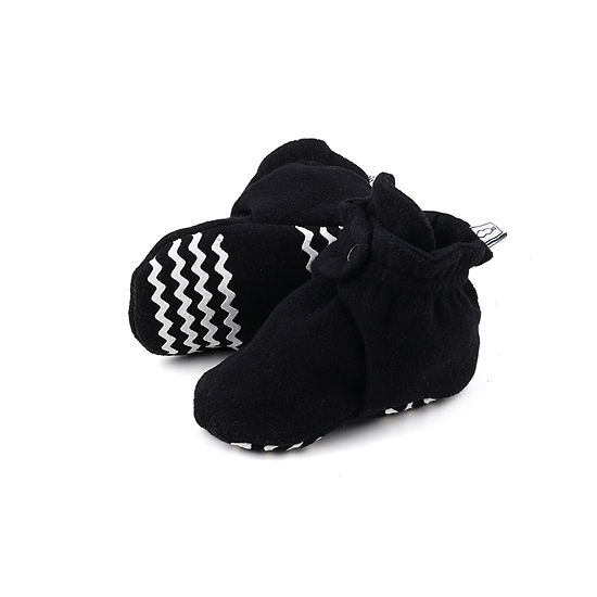 The Peanut Shell Fleece Booties Unisex Slip-On Shoe