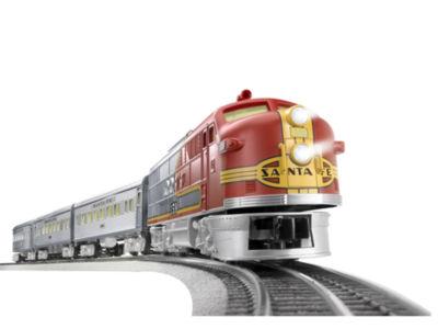 Lionel Trains Santa Fe Super Chief LionChief Train Set w/Bluetooth
