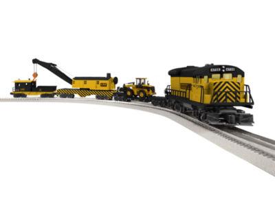 Lionel Trains Construction Railroad LionChief Train Set w/Bluetooth