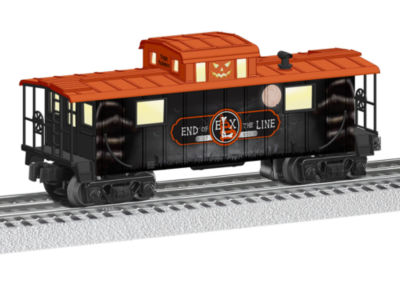 Lionel Trains End of Line Halloween Caboose