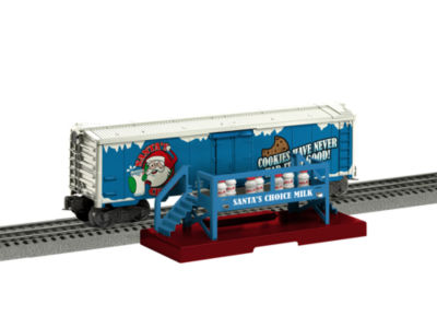 Lionel Trains Santa's Choice Milk Car with Platform