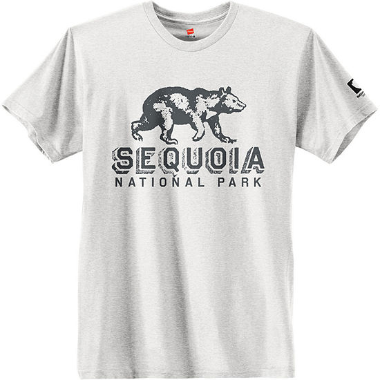 Hanes National Parks Sequoia Park Graphic Tee