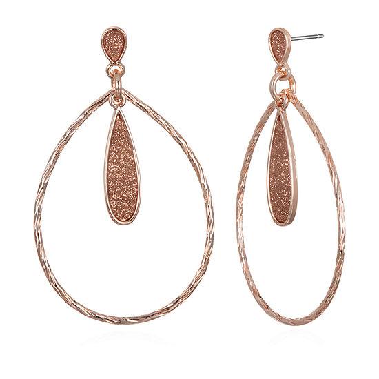 Mixit Oblong Drop Earrings