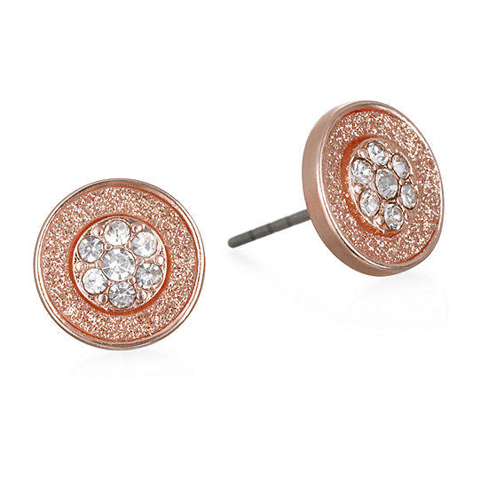 Mixit 9.1mm Round Stud Earrings