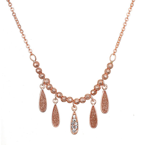 Mixit Glitter Paper 16 Inch Link Chain Necklace