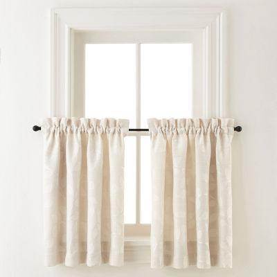 Liz Claiborne Rod-Pocket Window Tiers