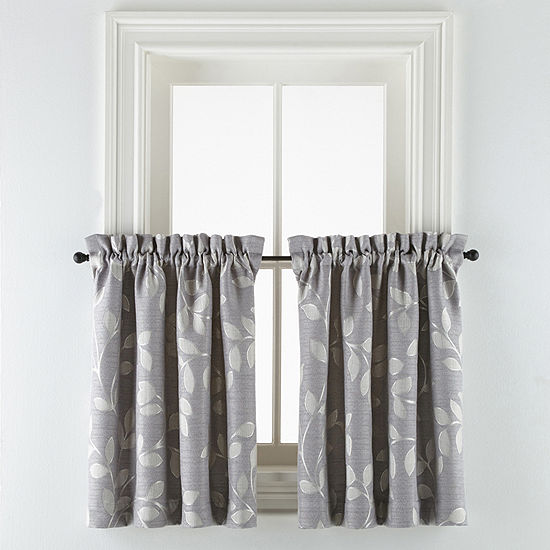 Liz Claiborne Rod-Pocket Window Tiers