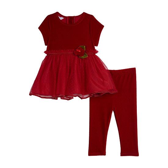 Marmellata Girls 2-pc. Legging Set-Baby