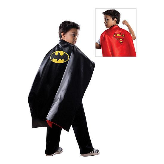 Batman Superman Reversible Cape  Child