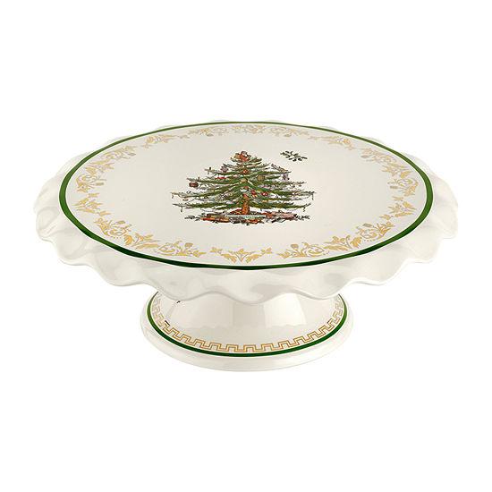 Spode Christmas Tree Cake Stand
