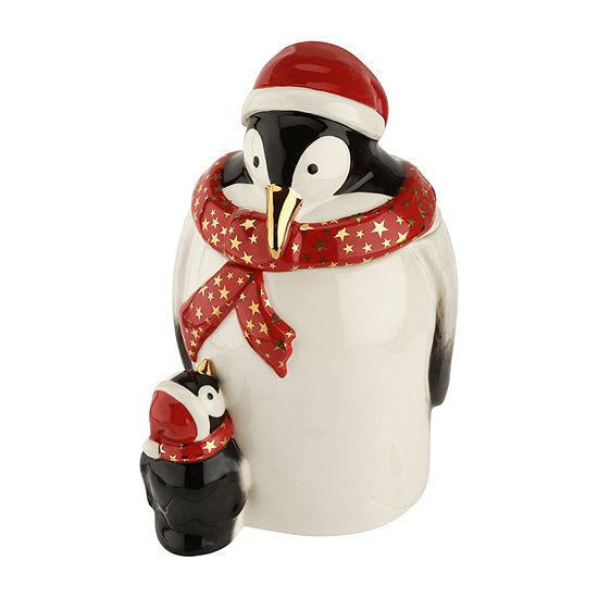 Spode Penguin Cookie Jar