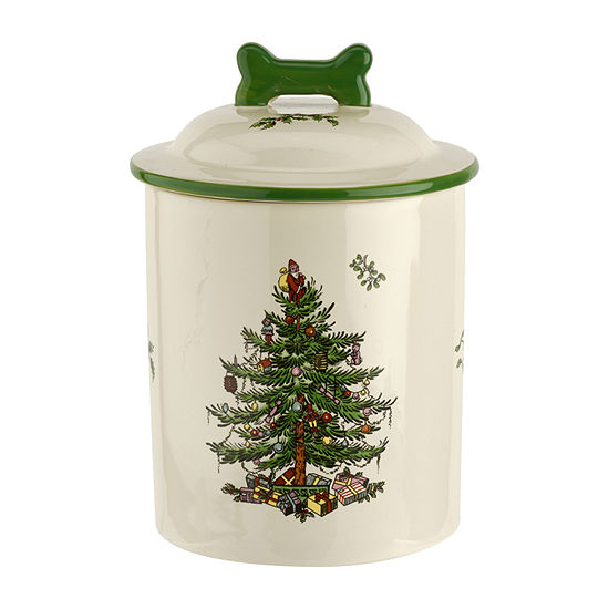 Spode Christmas Tree Canister