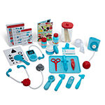 Melissa & Doug Let's Play! Get Well Doctor Activity Center And Play Set Bundle