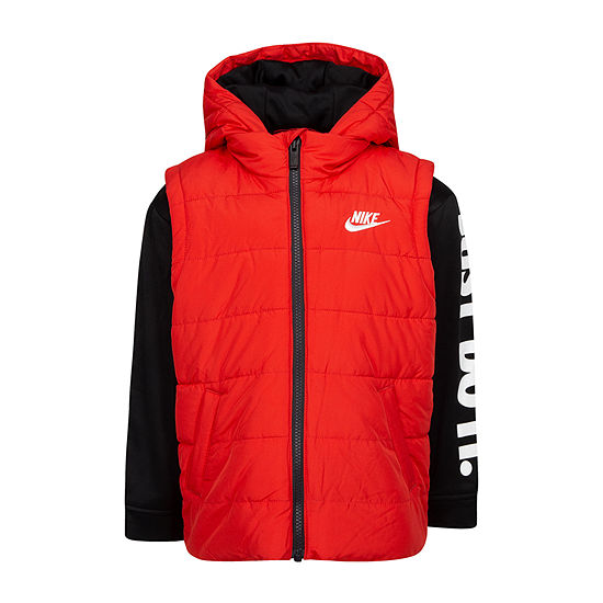 Nike Boys Fleece Midweight Jacket-Preschool