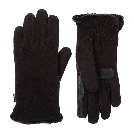 Isotoner Cold Weather Stretch Fleece Gloves with SmartDRI