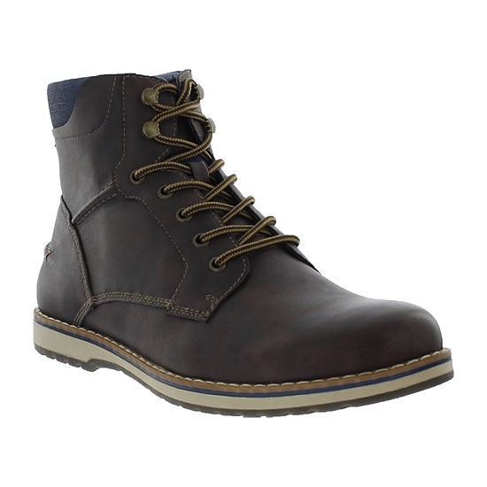 IZOD Mens Leon Lace Up Boots