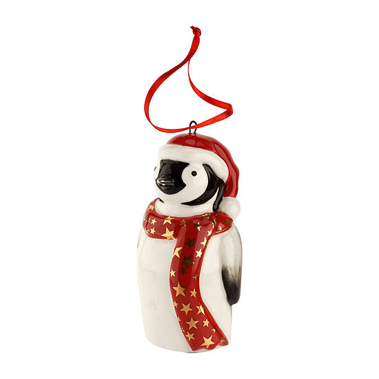 Spode Christmas Penguin Animal Ornament