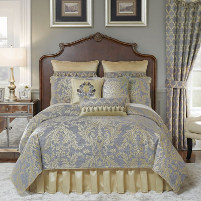 Croscill Classics Nadia 4-pc. Damask + Scroll Heavyweight Comforter Set