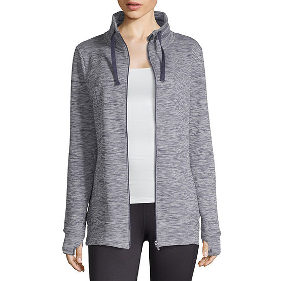Xersion Fleece Full Zip Jacket