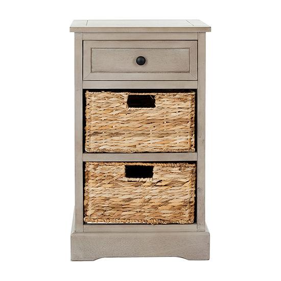 Safavieh 3-Drawer Storage End Table