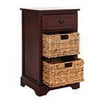 Carie 3-Drawer Storage End Table