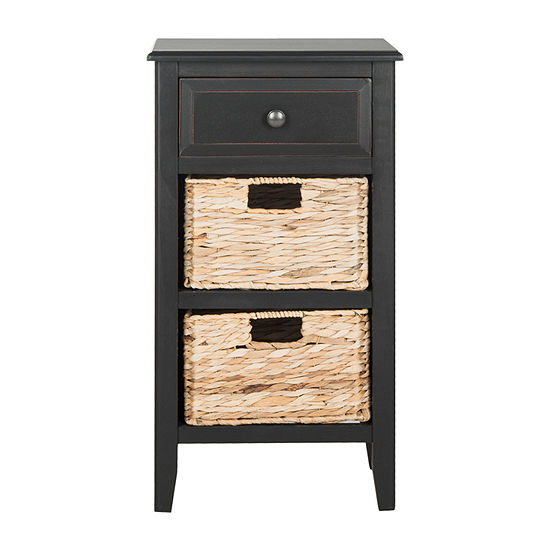 Everly 3-Drawer Storage End Table